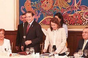 """Como """"positivo"""" califican los docentes este primer encuentro con el presidente Laurentino Cortizo."""