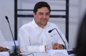 El viceministro de Finanzas, Jorge Luis Almengor, en el Gabinete Logístico.  Foto: MEF.