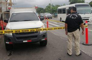 Este es el vehículo al que se le realizaron modificaciones. Foto/Mayra Madrid