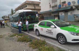 Se iniciaron las pruebas en las avenidas de la ciudad Atlántica. Foto: Diómedes Sánchez..