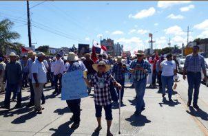 La agrupación anuncia que habrán nuevas medidas de fuerza. Foto/Thays Dominguez