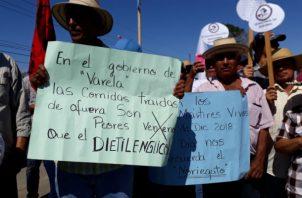 No hubo enfrentamientos durante las protestas. Foto: Thays Domínguez.