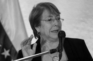 El jueves 4 de julio, desde la oficina del Alto Comisionado de los Derechos Humanos de la ONU, se divulgó el informe de Bachelet sobre la situación de derechos humanos en la República Bolivariana de Venezuela. Foto: EFE