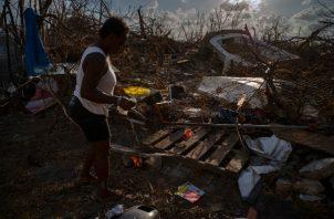 Los residentes de Bahamas aún no se recuperan de los embates del huracán Dorian que dejó cerca de 50 muertos. FOTO/AP