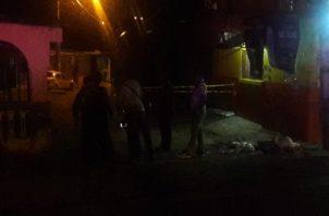 Noel Minot y Anselmo Corpas, se convirtieron en las víctimas 45 y 46 por la violencia que azota la provincia de en Colón y que no cesa. Foto/Diómedes Sánchez