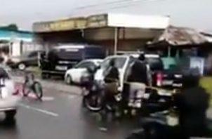 Delincuentes fueron abatidos en Felipillo. Foto/Cortesía