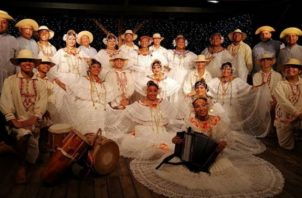 Ballet Folklórico Ritmos y Raíces Panameñas. Foto: Cortesía