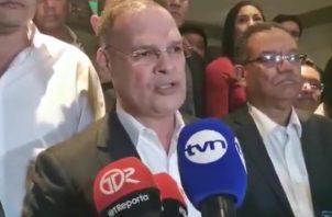 Secretario general del PRD, Pedro Miguel González.