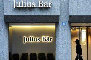 Julius Bar administra aproximadamente $40,000 millones en activos