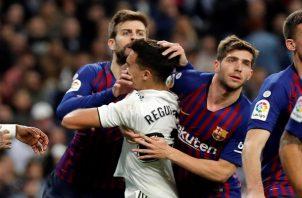 El Barcelona hace lo que quiere en casa ajena.