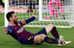 Messi agradeció a Xavi.