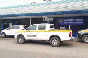 Una fuente señala que los residentes del lugar informaron de las detonaciones y señalaron que del lugar salieron tres sujetos en un auto de color blanco. Foto/José Vásquez