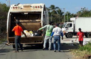Emas también retiró las cajas para depositar basura. Foto: Archivo/Ilustrativa.