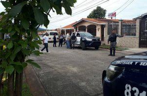 Hay menores implicados en el robo y rapto del bebé de tres meses en El Tecal. Foto: Policía Nacional.