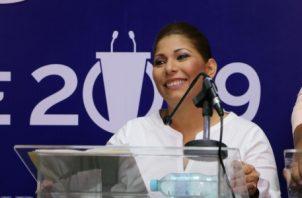 Belkis Saavedra, es candidata a la alcaldía del distrito de Arraiján se disputa el cargo con seis candidatos más. Foto/Cortesía