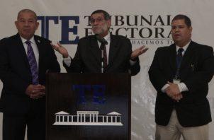 Osman Valdés anunció que aún en Bocas del Toro se tiene que hacer la proclamación.