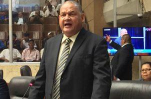 El diputado de Bocas del Toro resultó reelecto el pasado 5 de mayo.