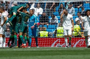 Real Betis se impone a Real Madrid. Foto:EFE