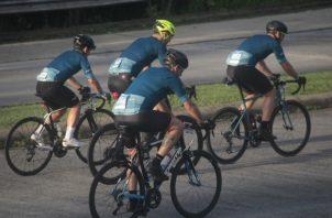 En la Ciudad de Panamá se habilitaron al menos dos puntos para el ciclismo recreativo. En David, Chiriquí estará habilitado a partir de hoy.  Foto de Victor Arosemena