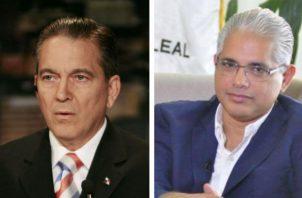 José Blandón y Laurentino Cortizo encienden Twitter por proyecto de ley antitabaco. Foto: Panamá América.