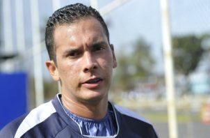 Blas Pérez ex delantero de la selección de Panamá. Foto Anayansi Gamez
