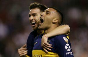 Ramón 'Wanchope' Ábila, adelantó a Boca Juniors Foto AP