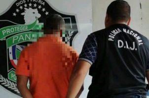 Una vez fue dictada la sentencia el sujeto fue llevado bajo estrictas medidas de seguridad a la cárcel Deborah en Changuinola, Bocad del Toro.