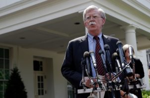 John Bolton designado asesor de seguridad nacional en abril de 2018 tras la renuncia del general H.R. McMaster.