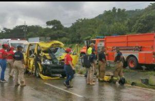 El las últimas horas se han registrado accidentes de tránsito en Panamá Oeste, la capital y Antón.