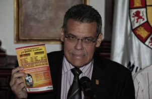 Bosco Ricardo Vallarino, exalcalde de Panamá.