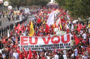 Haddad también busca frenar el avance en el nordeste de Bolsonaro.