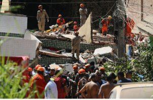 De los sobrevivientes a la catástrofe que resultaron heridos, dos personas permanecen hospitalizadas pero estables.