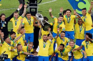 Brasil reinó en casa.