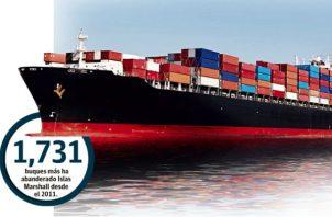 Panamá lidera el abanderamiento de naves mundial actualmente, pero en 2025 podría ser superado por el registro de Marshall Island.
