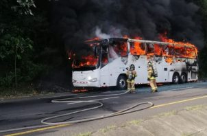 Por la rápida acción en este incidente no se registraron personas heridas. Foto/Eric Montenegro