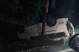 En Chiriquí van 20 muertos por accidentes de tránsito en lo que va del año según las estadísticas de la dirección de tránsito de la Policía Nacional. Foto/José Vásquez