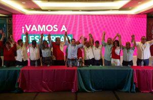 Rómulo Roux suma al partido Alianza. Foto: Víctor Arosemena