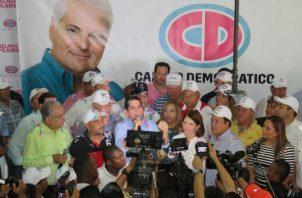 Partido Cambio Democrático.