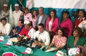 Cambio Democrático respalda a Ricardo Martienelli. Foto/Cortesía