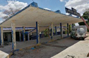 El colegio Moisés Castillo Ocaña está en reparación por lo que las mesas de votación serán reubicadas. Foto: Eric A. Montenegro.