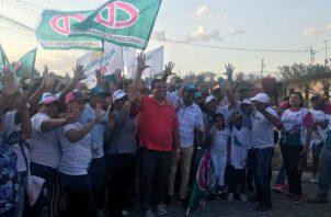 Sergio Gálvez recorrerá Tocumen como parte de su campaña política.