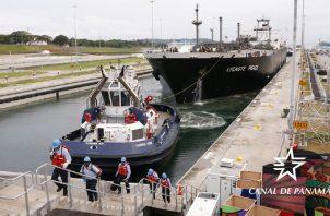 Las pocas lluvias han afectado el nivel de los lagos. Foto: Canal de Panamá