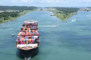 Por el Canal de Panamá pasan 29 de estas rutas comerciales. Foto: Canal de Panamá.