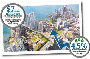 El Canal de Panamá aportó para el año fiscal 2018 la suma de $1,703 millones y el Gobierno, quien es el responsable de la administración de todos los recursos del Estado, decide a dónde va el aporte.