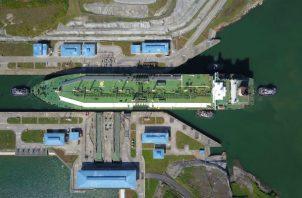 Los buques de GNL Q-Flex ahora pueden transitar por el Canal de Panamá. Foto/Cortesía