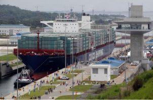 El Canal de Panamá obtiene el 22 de febrero de 2019 un primer pago de los Adelantos Adicionales que estaban garantizados por garantías corporativas inglesas, sus intereses y costos legales, por 124 millones de dólares. Foto/EFE
