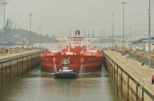 El segmento del GNL ya representa el 10 % de los tránsitos por las nuevas esclusas del Canal de Panamá. Foto/Archivo