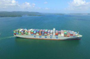 El Canal de Panamá alcanzó hoy una nueva marca con el tránsito del buque neopanamax número 5,000