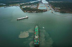 El tránsito de buques de pequeño calado está desacelerado luego de registrar una cifra de 2.7%. Foto/Archivo