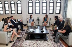 Panamá reitera apoyo al gobierno provisional del presidente interino Juan Guaidó. Foto: Cancillería.